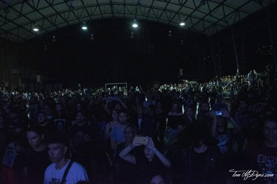 Tom McDyne - SavaGuest - NEKROMANTIE - TEATRO AL AIRE LIBRE CASA DE LA CULTURA CERRO DE ANGEL MEDELLIN COLOMBIA - NEKROMANTIE crowd