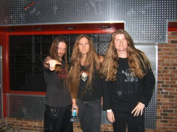 Tom McDyne - Oliver Palotai (KAMELOT), Jim Dorian & Tom in Florida