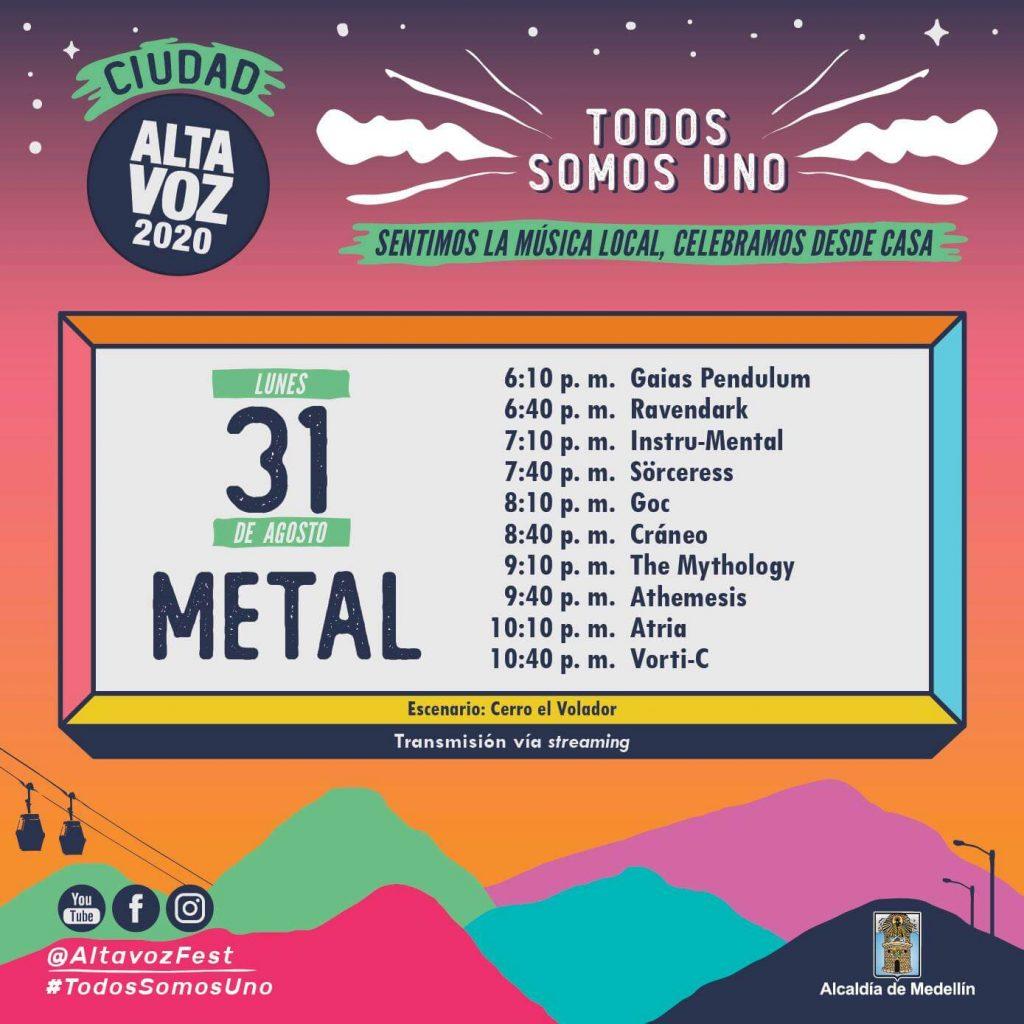 Tom McDyne - ALTA VOZ Festival 2020 - Medellin Colombia